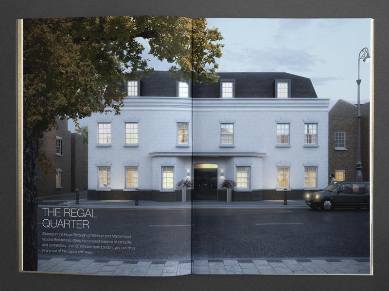 bespoke property brochure architectural visualisation