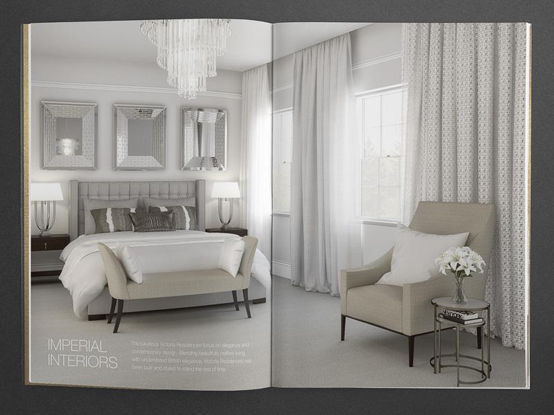bespoke property brochure interior cgi
