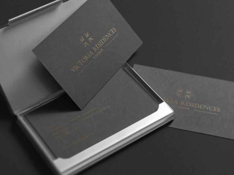 bespoke property brochure stationery