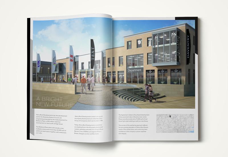 commercial property brochure exterior CGI