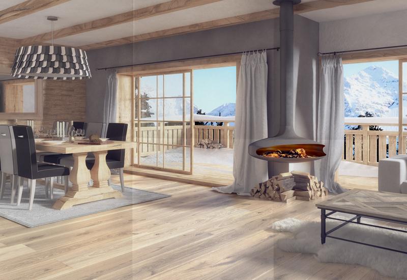 luxury home interior cgi brochure