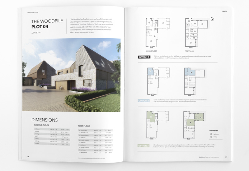 A4 Property Brochure HAB floor plan