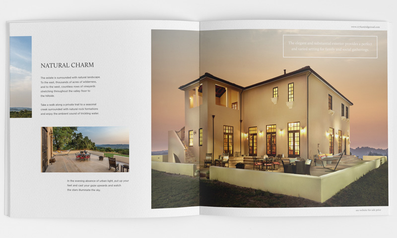 Luxury Residential Property Brochure page