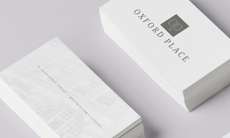 oxford place business cards