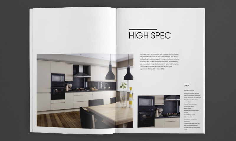 beautiful brochure design goswell sprerad
