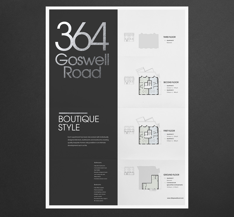 beautifully designed property brochure