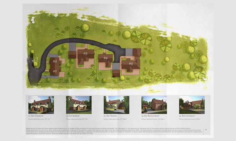 property development sales location map