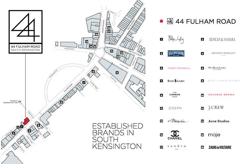 location map fulham road commercial presenter document savills